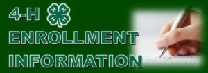 Cover photo for Time to ENROLL in 4-H for 2019